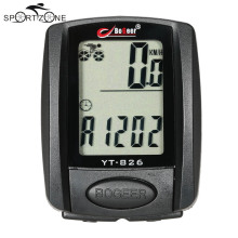 Waterproof Multifunction Bicycle Cycling Computer Bicycle Speedometer Odometer LCD Backlight Backlit Bike Computer MBI-95(China)