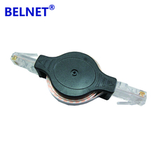 BELNET 4.9FT 1.5m RJ45 cat5e cable Ethernet Network Cable Portable Retractable to Use