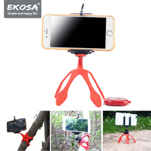 Ekosa Gekkopod Camera Stand Tripod For Phone Mini Flexible Octopus Ahtapot Tripod TRIPODE Mobile With Remote Control Gorillapod