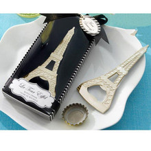 Wedding Favor and Gift Novelty Metal Eiffel Tower Shape Bottle Opener Party Supplies Event Decoration Souvenirs Festival