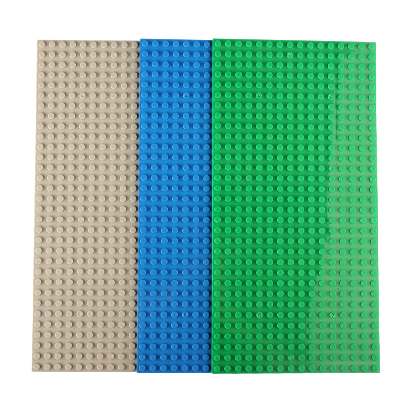 Hot 32*16 Dots 25*12.7cm Small Blocks Base Plate Minifigures Building Blocks DIY Baseplate Compatible with Legoe Bricks X1<br><br>Aliexpress