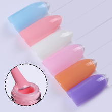 BORN PRETTY Colorful Clear Jelly Gel Soak Off White Nail Gel Manicure Long Lasting LED UV Gel Nail Polish Lacquer(China)