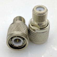 TNC to F type Connector adapter TNC Male to F Female British system Connector 10pcs/lot(China)