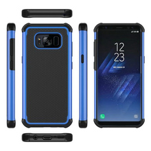 For galaxy S8 Fundas Armor Phone Cases Football skin Cover For Samsung Galaxy S8 Plus S6 S7 edge Shockproof Silicone Case