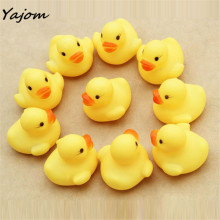 One Dozen (12) Rubber Duck Duckie Baby Shower Water Birthday Favors Gift free shipping vee Just for you Gags & Practical Jokes(China)