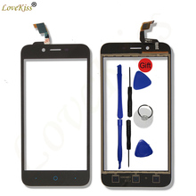 "5"" Touchscreen Panel For ZTE Blade L4 A460 L4 Pro A465 T610 A475 Touch Screen Sensor LCD Display Digitizer Glass TP Replacement(China)"