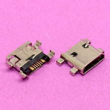 YuXi 100pcs Micro USB Jack 7pin Charging Charger Port Socket Connector For Samsung Galaxy S3 mini I8190 I8160 S7562 S7560(China)