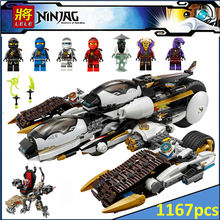 Compatible Legoe Ninjagoes  Ultra Stealth Raider 70595 Building Bricks Ninja Figure Toys For Children