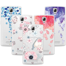 "Buy 3D Art Print Case Coque Lenovo A1000 A2800 4.0"" Soft TPU Flower Lace Relief Phone Cases Cover Lenovo 1000 2800 Funda for $1.46 in AliExpress store"