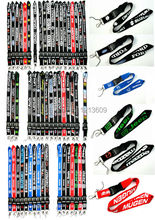 Hot 50 pcs Mix Car Logo Lanyard/ MP3/4 cell phone/ keychains /Neck Strap Lanyard WHOLESALE Free shipping