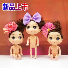 3pcs 12cm Doll cake decorating tools Lovely girls large baby MOLD children birthday candles modules Baby pillow silicone mold