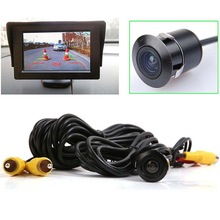 Waterproof Car Parking Assistance Reversing Back Car Rear View Camera, HD CCD Image Sensor Antifog 120 Degree Rearview Camera