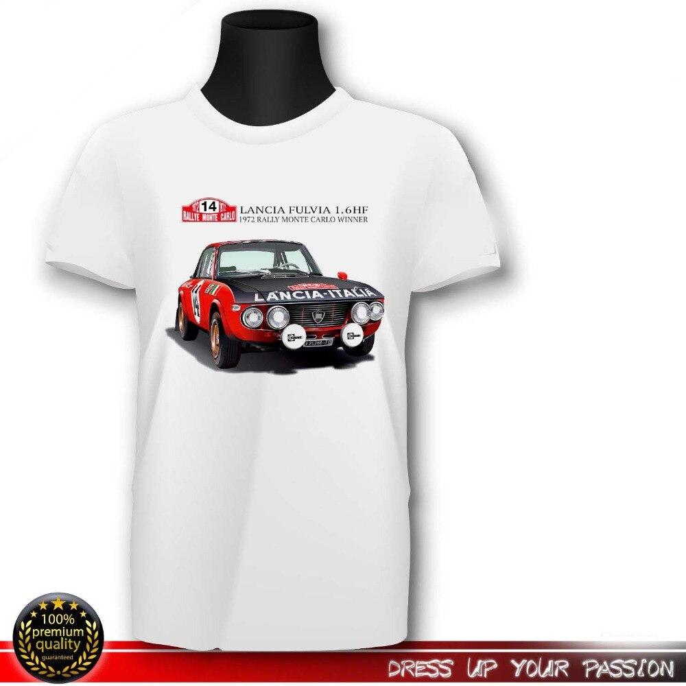 Abarth 037 t shirt Martini rally retro vintage Lancia group b mens top monte car