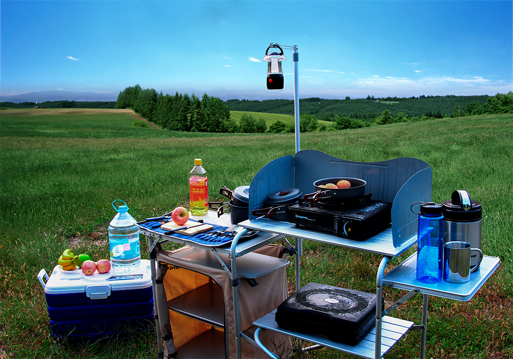 Gas Stove Portable Picnic Cooking BBQ 9