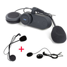 Free Shipping! T-COM 1KM A2DP AVRCP Motorcycle Bluetooth Intercom FM+Free Soft&Hard Earpieces
