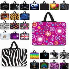 Viviration Universal Women Mens Portable 10 12 13 14 13.3 11.6 15 15.4 15.6 17 17.3 Laptop PC Sleeve Bag Zipper Carry Cover Case(China)