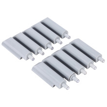 New 10Pcs/Lot Case Door Cabinet Drawer Hinge Push to Open System Damper Buffer Catch Plastic Tip Open Door Damper System(China)