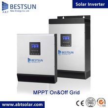 High quality New design China supplier 5kva MPPT 60A BPS-5000M A.B.T BESTSUN solar inverter AC charge current 60A(China)