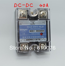 CE approved Mager SSR 40A DC-DC Solid state relay Quality Goods MGR-1 DD220D40(China)