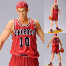 9.8'' Slam Dunk Hanamichi Sakuragi action figure Toy PVC Japanese Slam Dunk Figure Model Toys