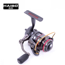 Haibo Snow Leopard 600/800 Mini Spinning Fishing Reel Aluminium Spool Gear Ratio 5.2:1 Fishing Tackle Stream(China)