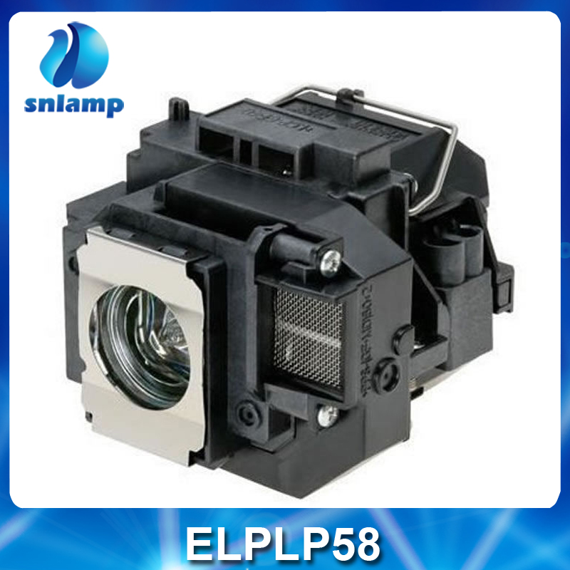 High quality compatible projector lamp ELPLP58 / V13H010L58 for EB-S10 EB-S9 EB-S92 EB-W10 EB-W9 EB-X10 EB-X9 EB-X92 ect.<br><br>Aliexpress