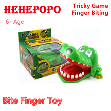 2017 New Children's Gift Finger Biting Tricky Game Large Crocodile Mouth Dentist Kids' Novelty Gag Toy Funny Plastic Gadges Baby