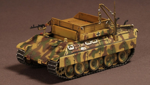 WARMASTER 1/72 World War II German WM TK0054 Demag Panthers rescue service car model Alloy military model