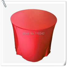 "Factory Price !!! 10pcs Many Colors 72"" Inch Round Cocktaile Table Cover FREE SHIPPING(China)"