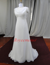 real picture hot sale high quality empire style Wedding Dress Bridal dress custom made wedding gown factory supplier