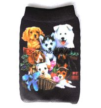 50 Pcs fashion lovely cute dog dog Mobile phone Sock,case cover