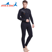 Dive&Sail 3MM wetsuit Neoprene  scuba diving suit unisex Dive Spearfishing Wet Suit clothes plus size s - xxxl
