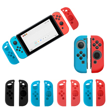 1Pair Portable Protect Cover Soft Silicone Anti-Slip Case Skin Guard for Left Right Nintendo Switch Joy-Con Controller