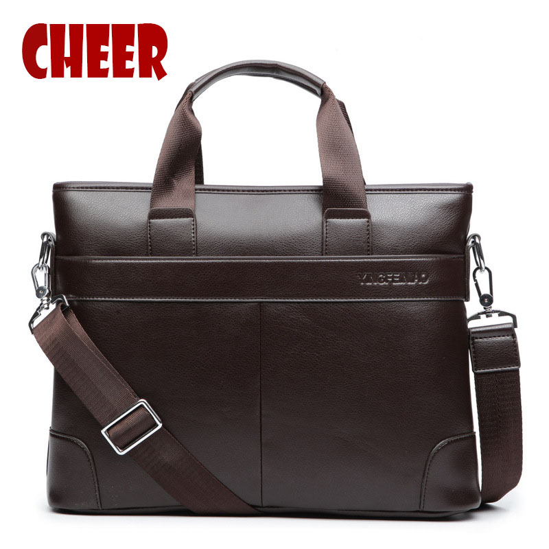 2017 new fashion men bag PU leather men handbag crossbody bag High capacity briefcase documents pouch Designer high quality<br>