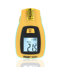 TASI-8660 Digital Infrared Thermometer Range -50 ~ 330 Degree C Temperature Unit Selection Industrial Thermometer meter(China)
