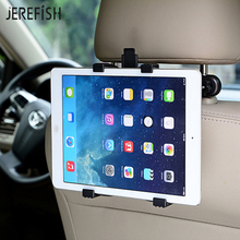 JEREFISH Universal Car Headrest Tablet PC Stand Plastic Tablet Car Holder Back Seat Suitable for 7-11 inch iPad mini
