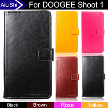 Buy AiLiShi DOOGEE Shoot 1 Case Top Flip Fashion Leather Case Protective Cover Phone Bag Wallet Card Slot+Tracking for $3.99 in AliExpress store