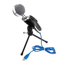 2017 New Professional Sound USB Microphone for Video Recording Karaoke Radio  PC Laptop Chatting Audio Recording Condenser Mic
