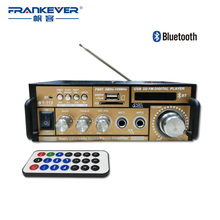 Frankever Hi Fi Bluetooth Digital Audio Car 2.1 Channel Home Audio Sound Amplifier AC220V-240V Volume Control Subwoofer BT-118