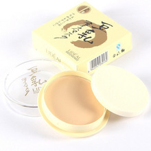 LIDEAL Professional Powder Mineral Pressed Powder Waterproof Oil-free Base Cosmetics Concealer Contour Palette Mineral Makeup