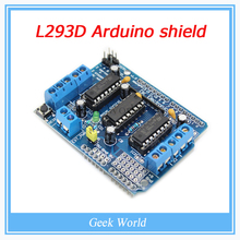Buy Freeshipping ! L293D motor control shield motor drive expansion board FOR Arduino motor shield for $2.29 in AliExpress store