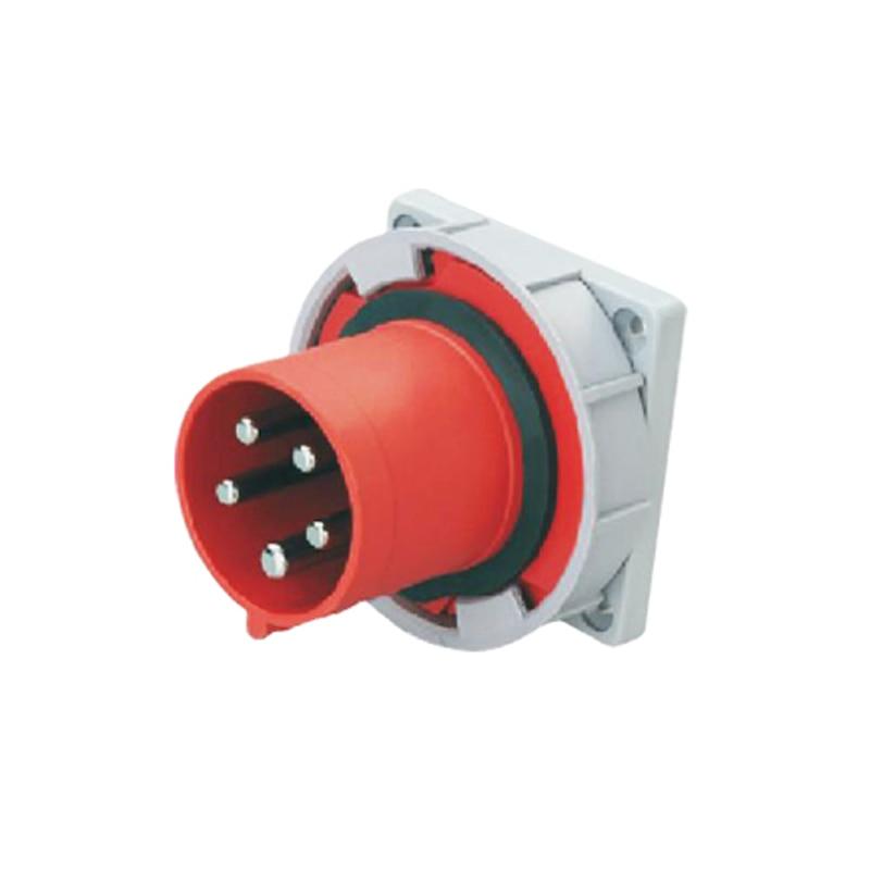 63A 5Pin 380-415V industrial waterproof concealed appliance plug Waterproof grade IP67 SF-635<br><br>Aliexpress