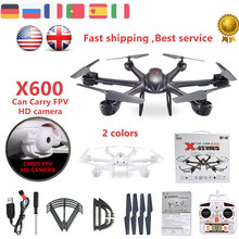 ET RC Drone MJX X600 2.4G 6 Axis can add camera FPV Real time function FPV wifi helicopter RTF rc drone vs mjx h500 X400 x101