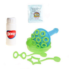BOHS Bubble Gun Bubble Blower Bubble Machine Show Children Water Blowing Toy, Concentrated Soap Liquid Included