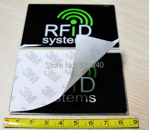 UHF RFID Windshield Tag   18000-6C -EPC -G2   tamper proof rfid tag with 3M glue<br><br>Aliexpress
