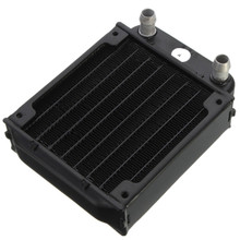 80mm Aluminum Computer Radiator Water Cooling Cooler For Computer Chip CPU GPU VGA RAM Heatsink Heat Exchanger(China)