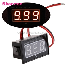 24V 36V 48V Golf Cart DC15-120V Digital Voltage Meter Battery Gauge Club Car Red -Y121 Best Quality