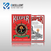[EPCS poker] Playing Cards KEEPERS Red Guard mark magic poker(China)