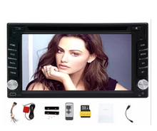 Car Electronic On Board 2 Din Car DVD GPS/DVD player/radio tuner / MP3 Player/touch screen / bluetooth browser and Cam Free map