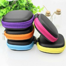 1pc Super Deal Square Storage Box Mini Earphone SD Card Macarons Bag Storage Box Case Carrying Pouch